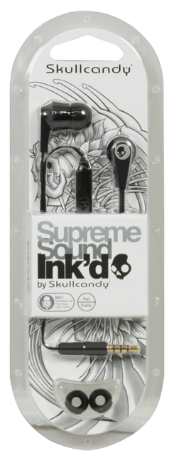 Skullcandy Ink'd 2.0 In-Ear Earbuds w/Mic