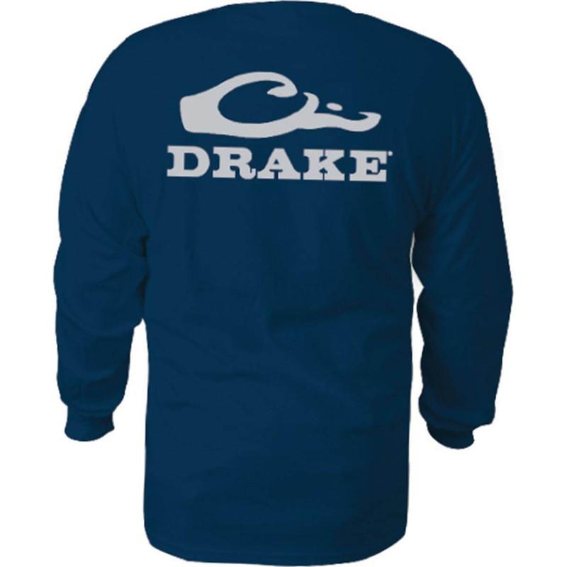 Drake Duck Head Logo Long Sleeve Tee