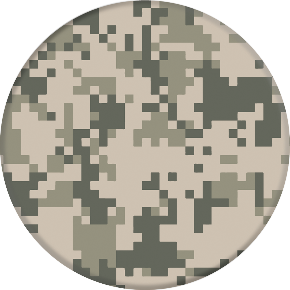 PopSockets Action PopGrip - Pattern BP Digital Camo
