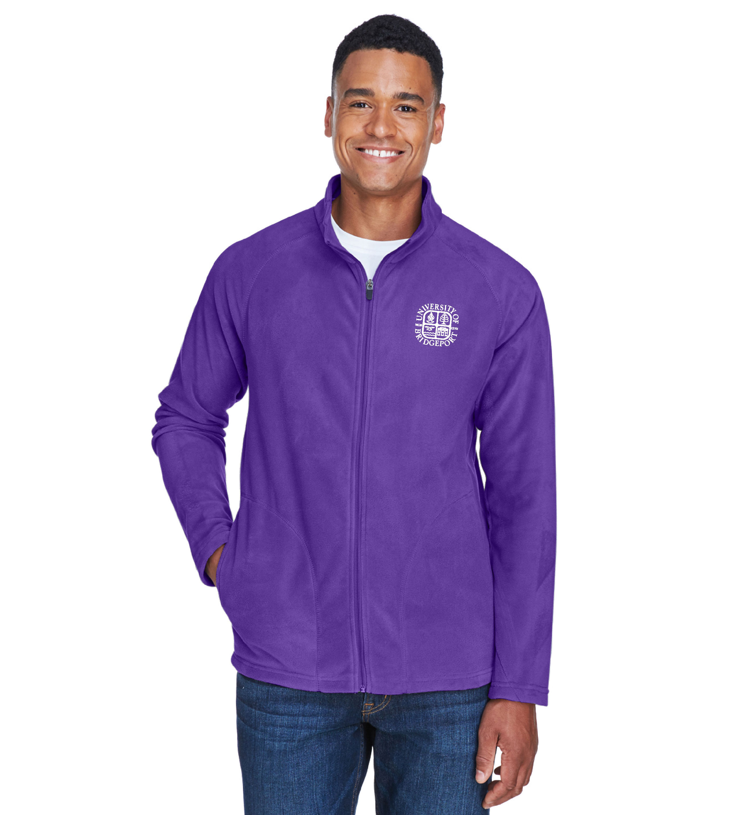 Fleece Jacket - Purple