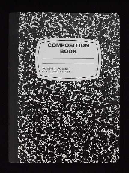Composition Book 100 Sheet