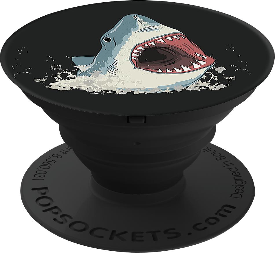PopSockets Cell Phone Accessory - Pattern BP Shark!
