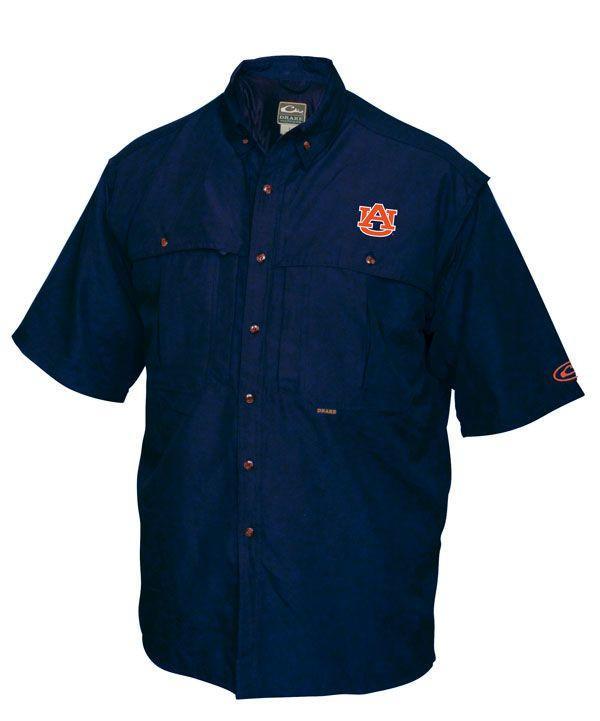 Auburn Wingshooter's Shirt Short Sleeve