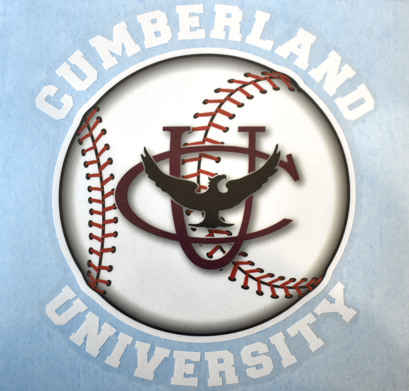 Cumberland University Baseball Decal