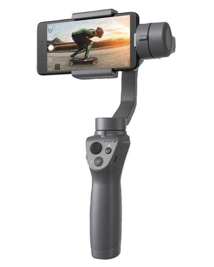 DJI Osmo Mobile 2 Handheld Smartphone Gimbal - Black 13.4x6.2x3in Box