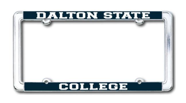 Dalton State College License Plate Frame