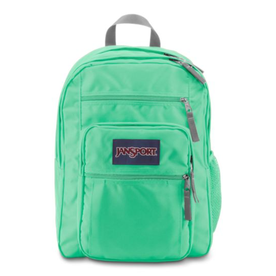Big Student Seafoam Green Backpack