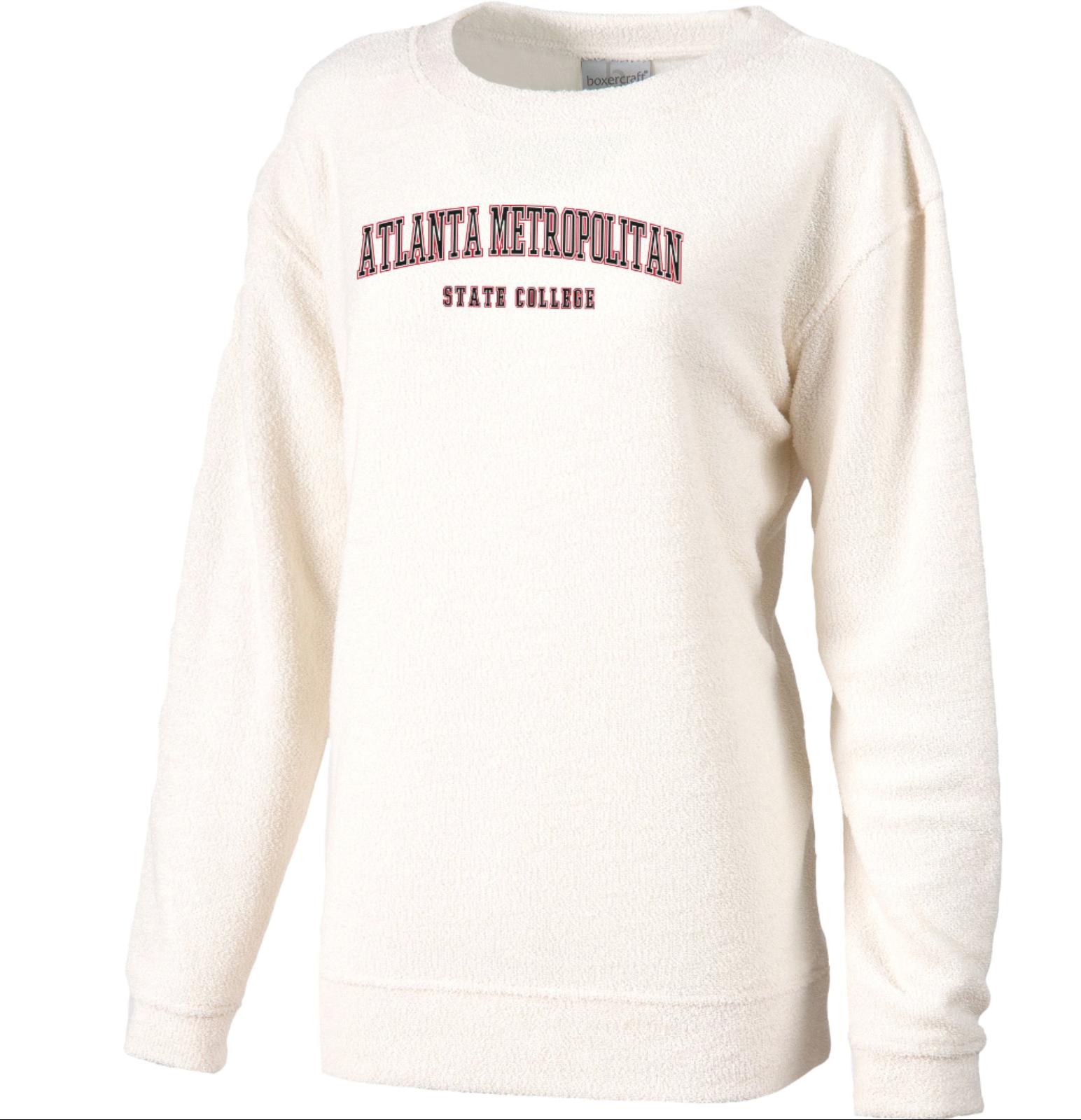 Atlanta Metropolitan State College Women's Slim Fit Cozy Crew Neck Sweatshirt