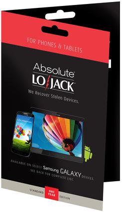LoJack for Mobile Standard