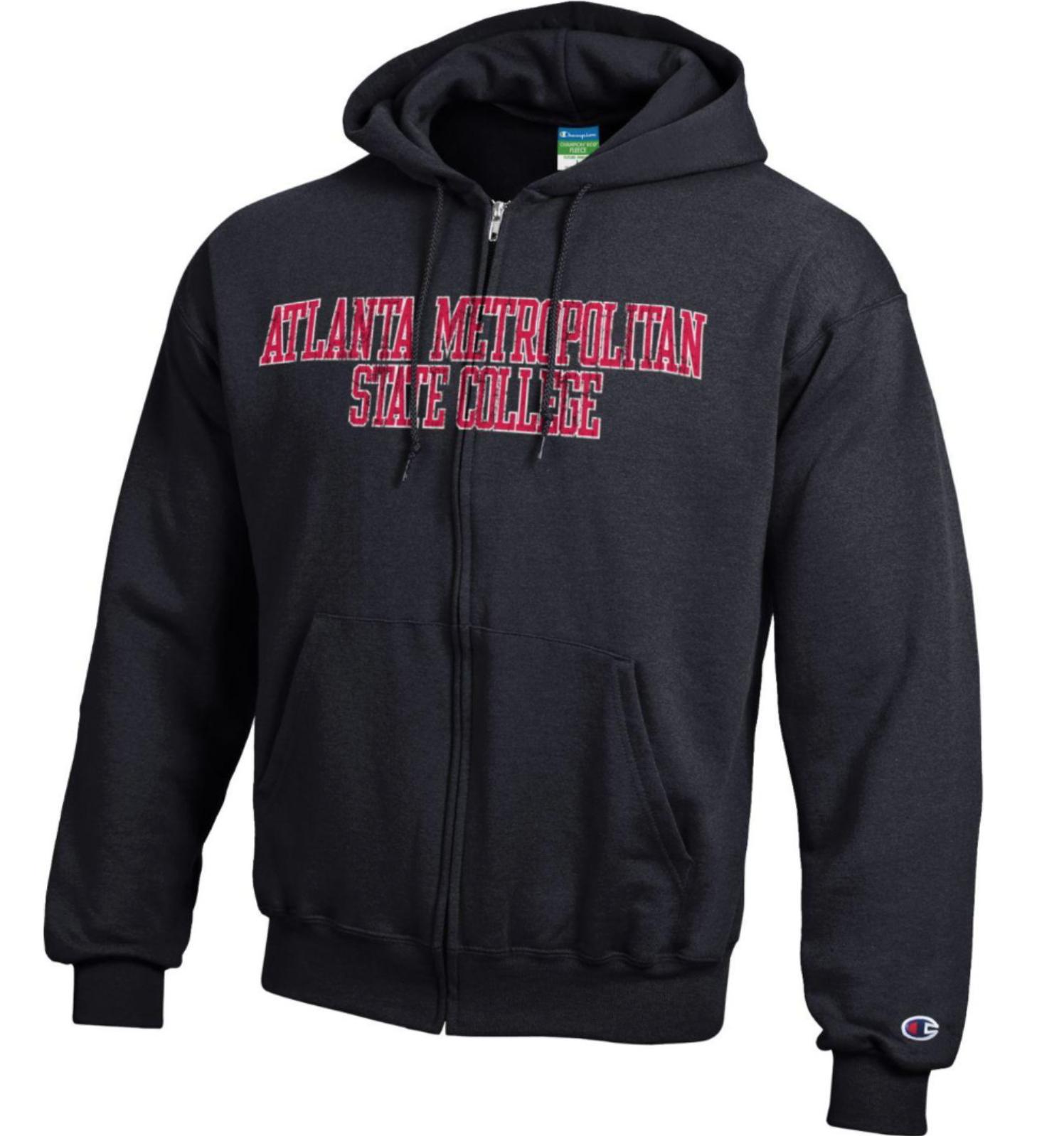 Atlanta Metropolitan State College Full-Zip Hooded Sweatshirt