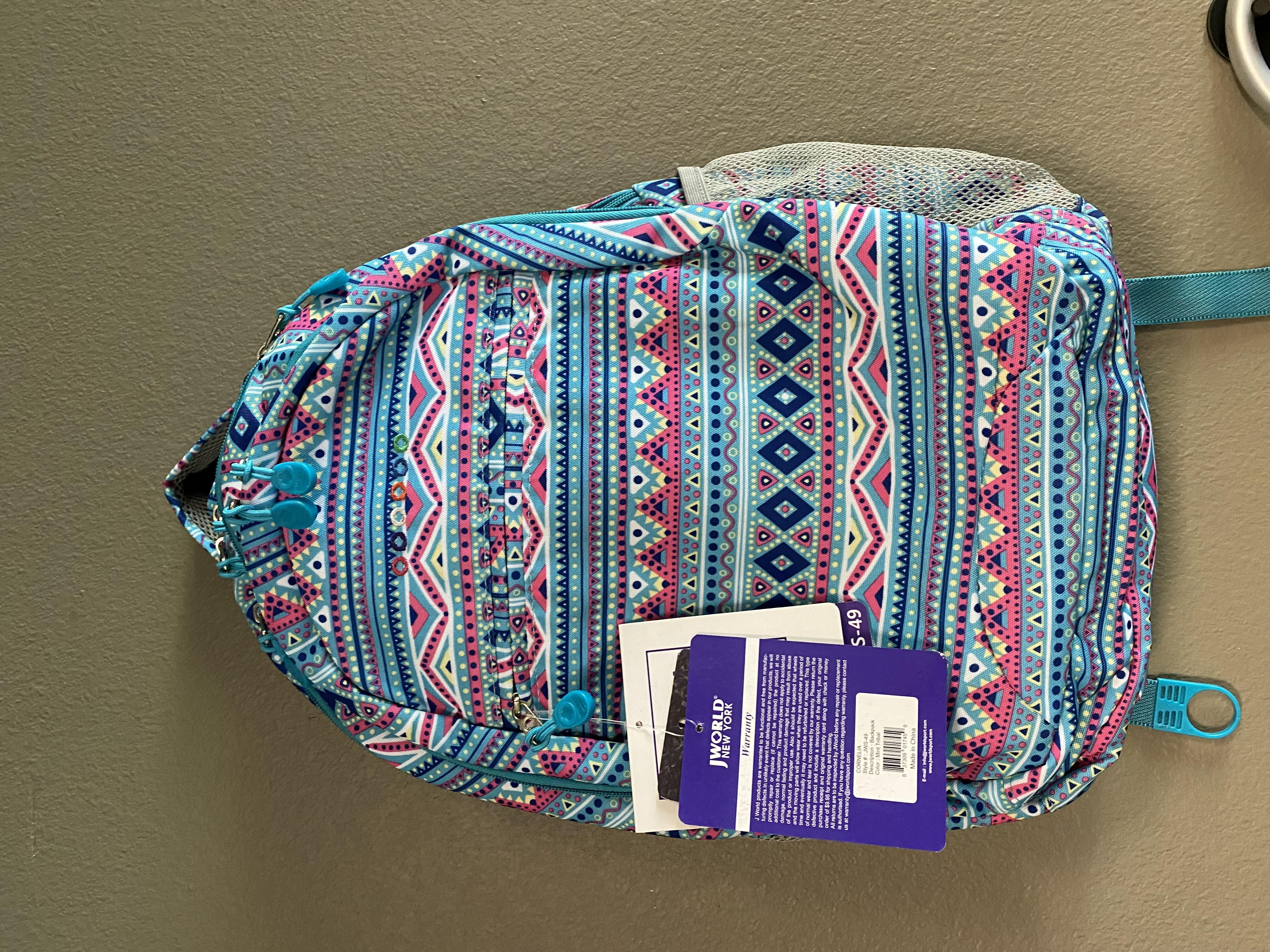 JWorld Backpack