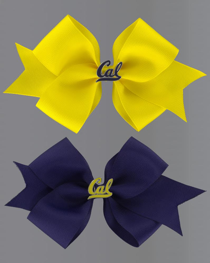 Cal Medium Ribbon Bow with Alligator Clip