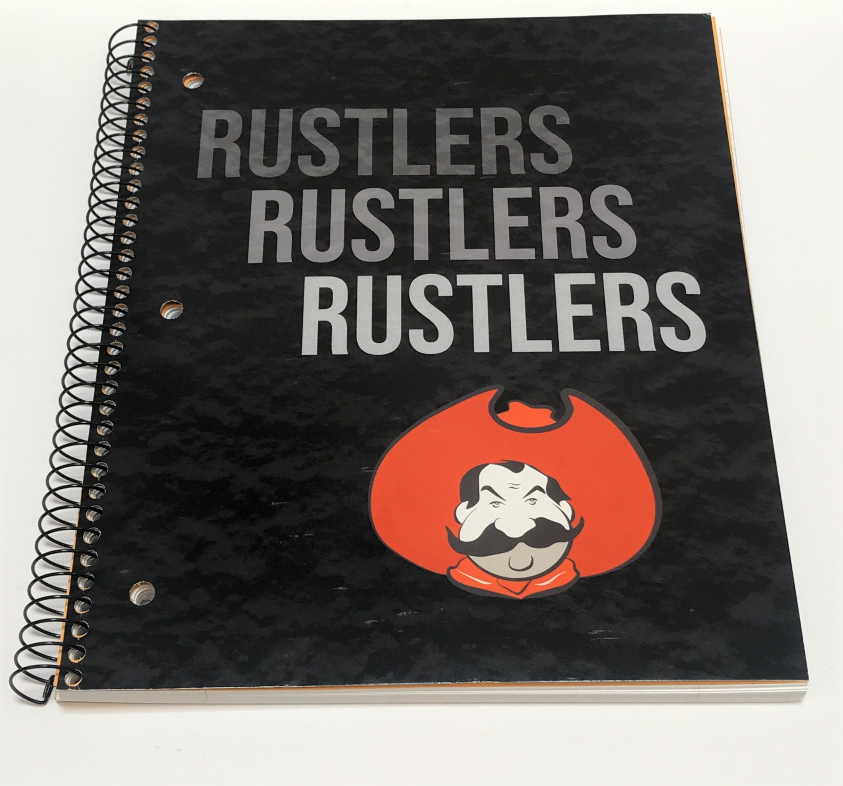Rusty Rustler Notebook