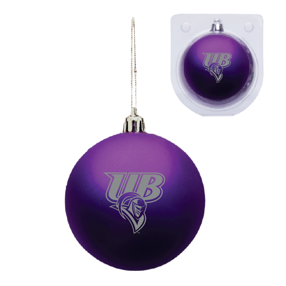 Shatter Proof Purple Ornament