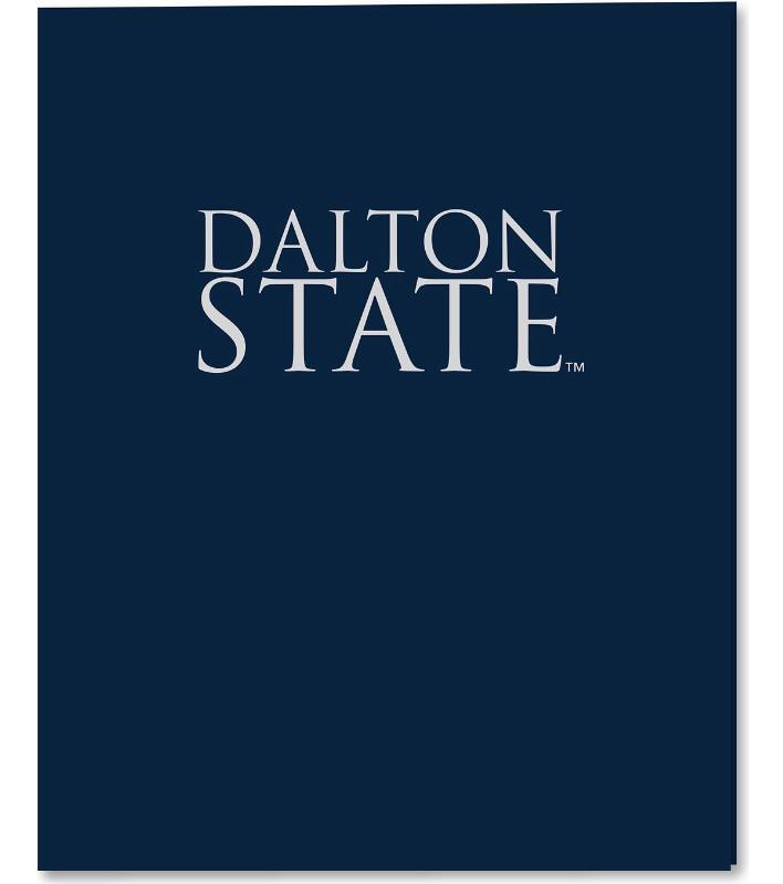 Dalton State 2 Pocket Folder