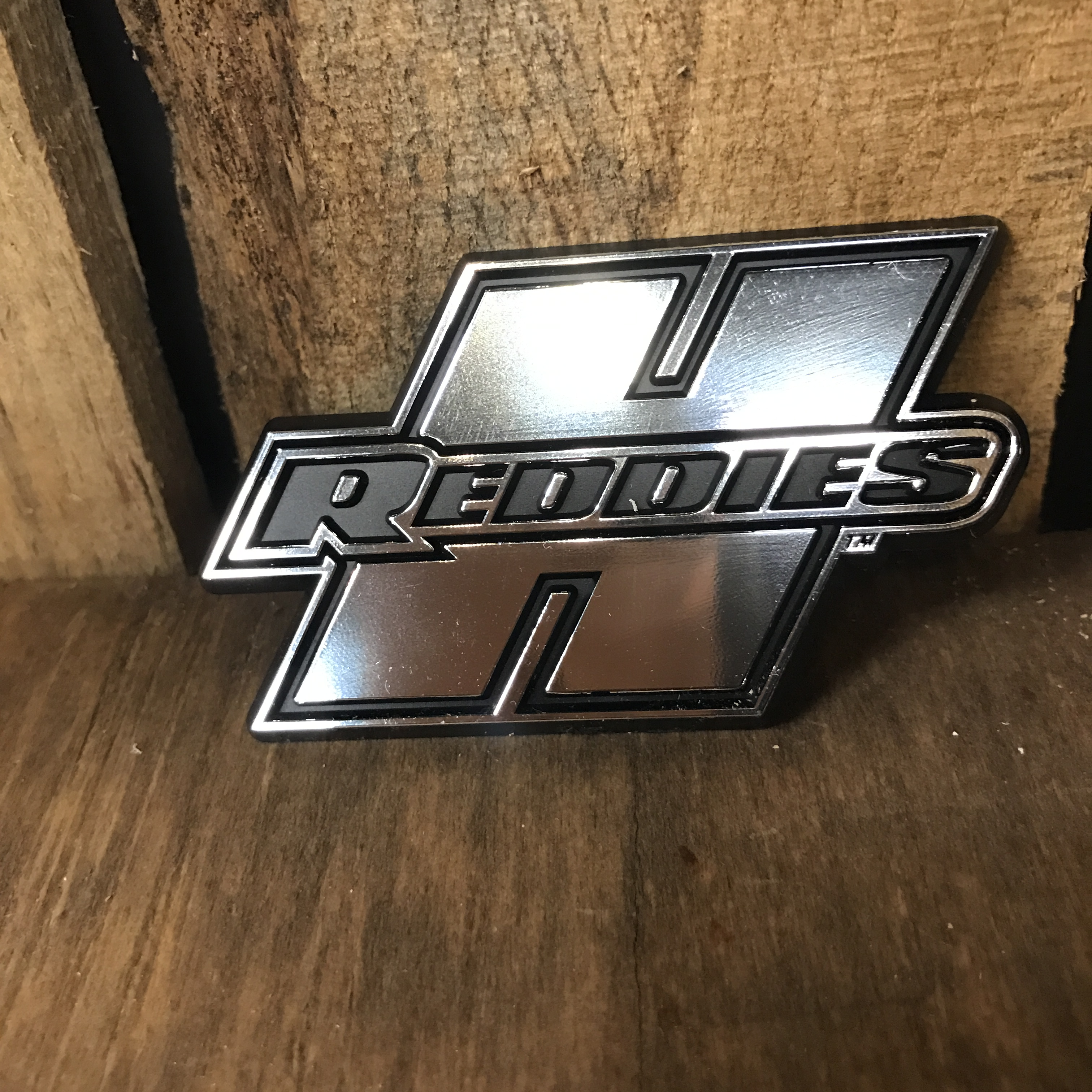 Chrome Car Emblem