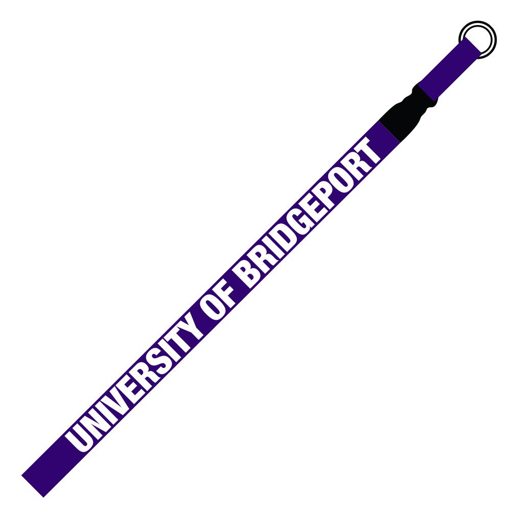 Woven Lanyard - Purple