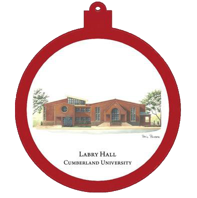 Labry Hall Christmas Ornament