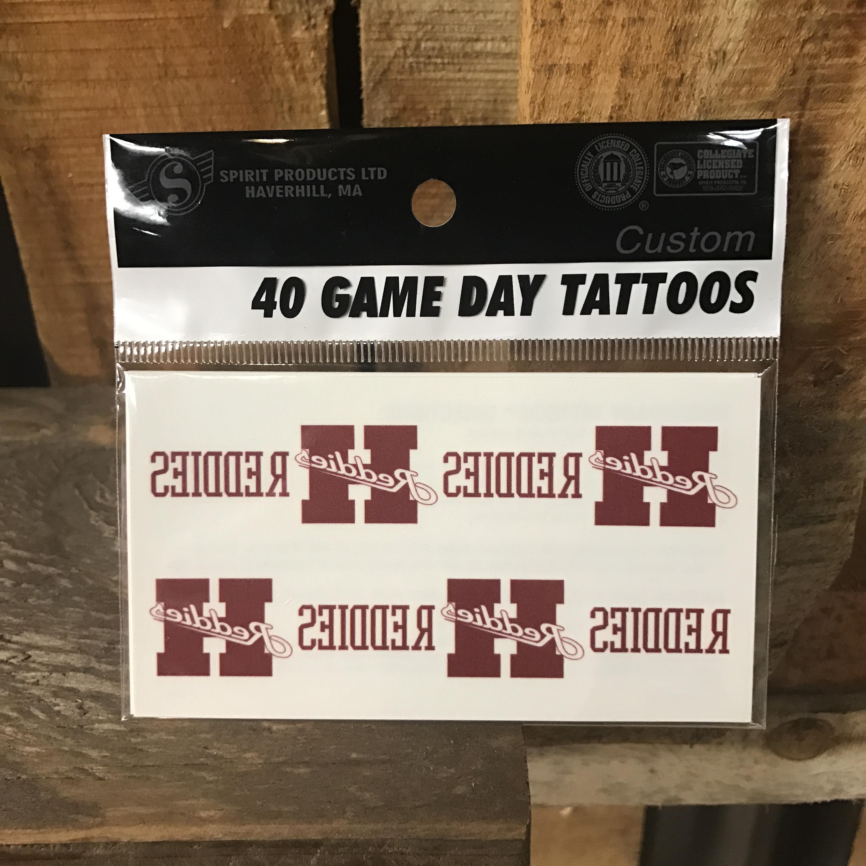 Gameday Tattoos