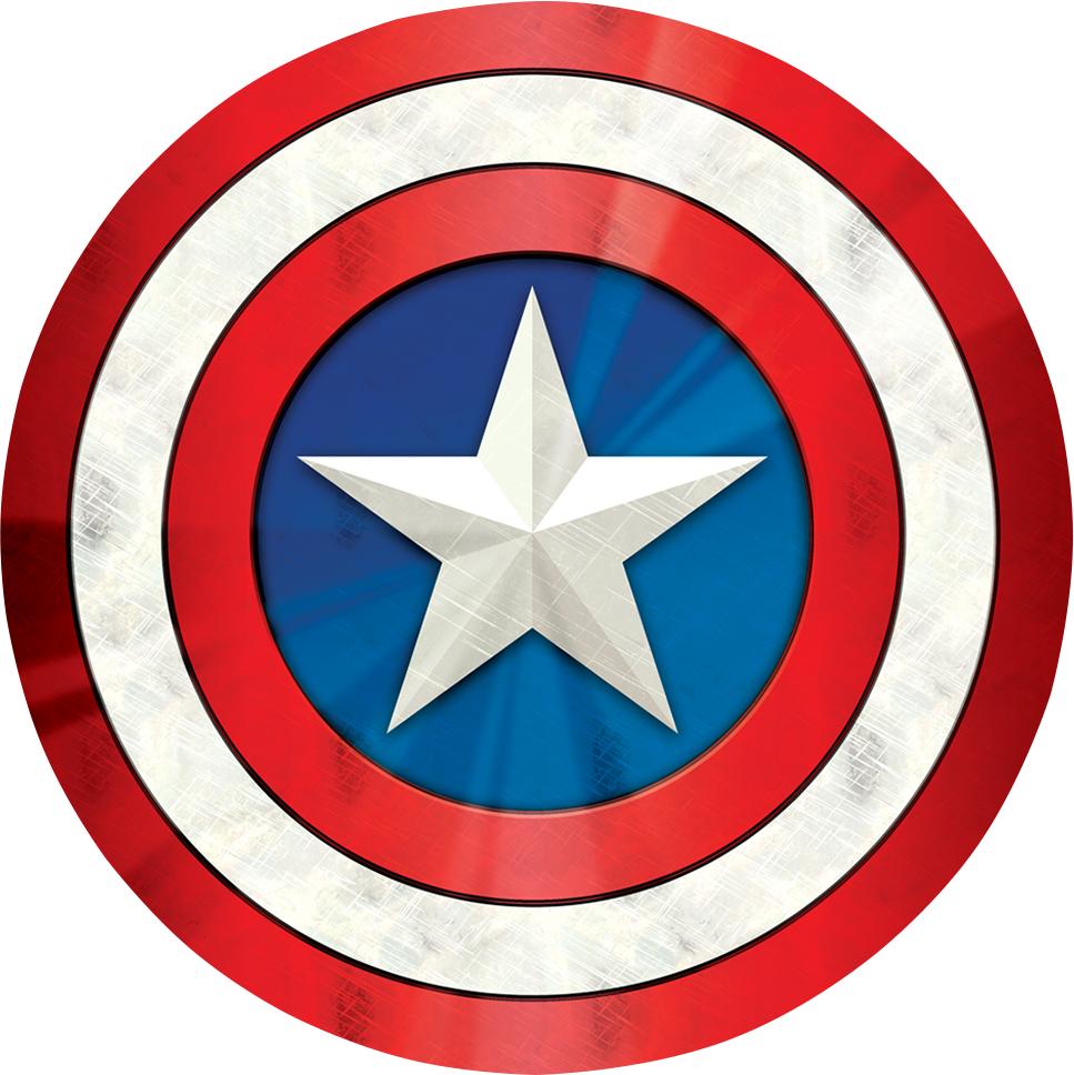 PopSockets Pop Culture PopGrip - Pattern BP Captain America Shield Icon