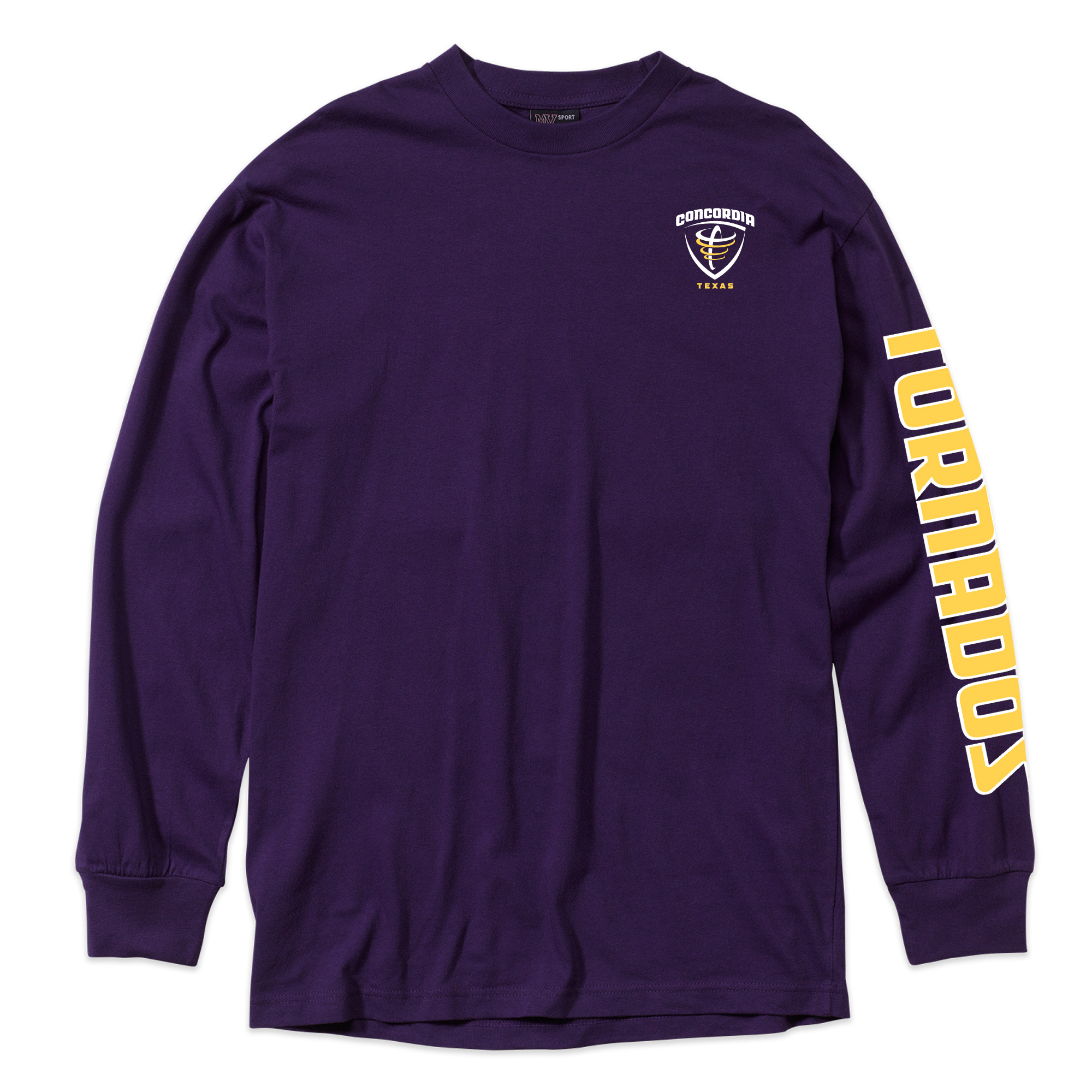 Classic Long Sleeve Tee - Purple
