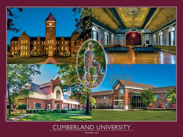 Cumberland University 18 in. by 24 in. Poster
