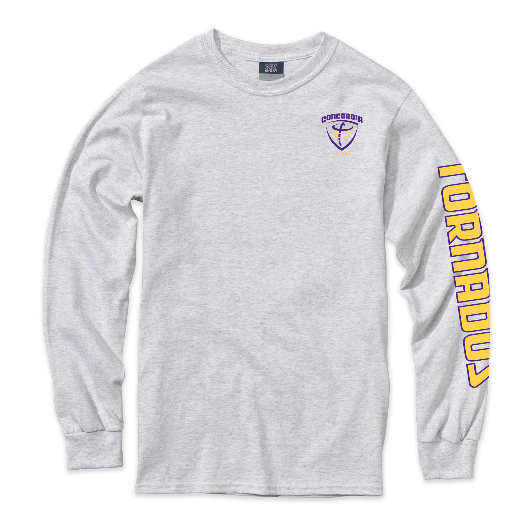 Classic Long Sleeve Tee - Marble Heather