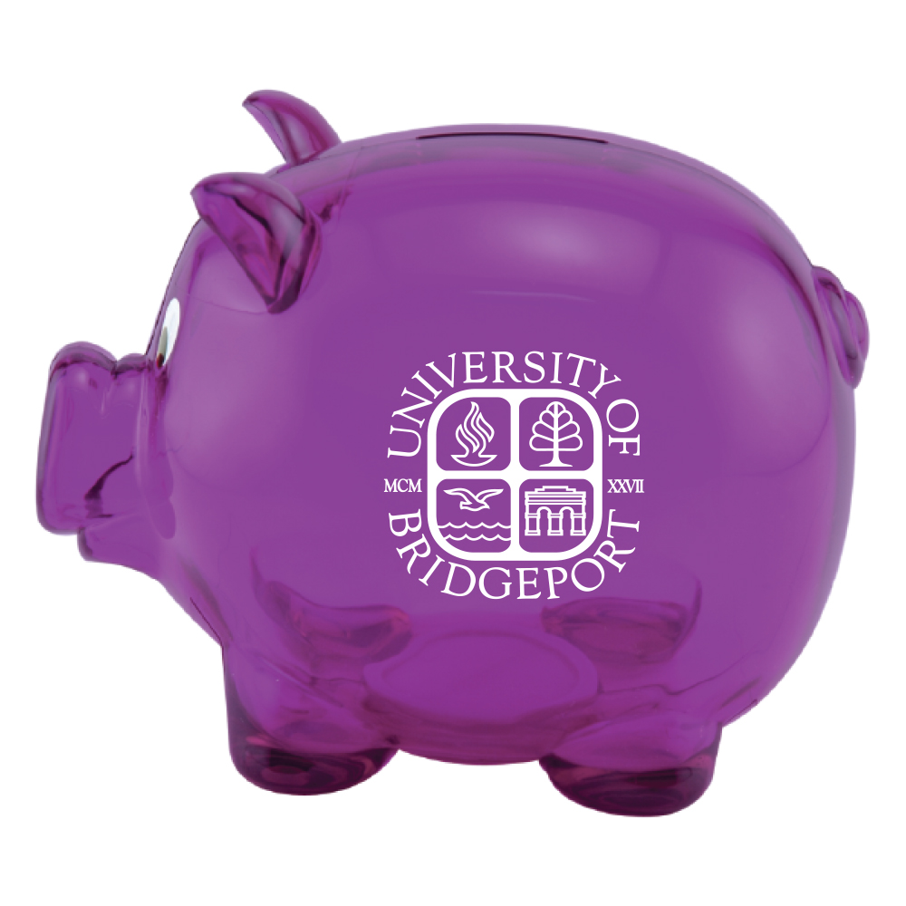 Piggy Bank - Purple