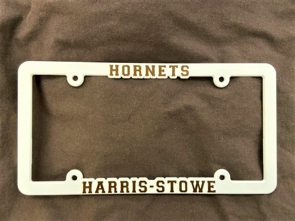 Harris Stowe Hornets License Plate Holder