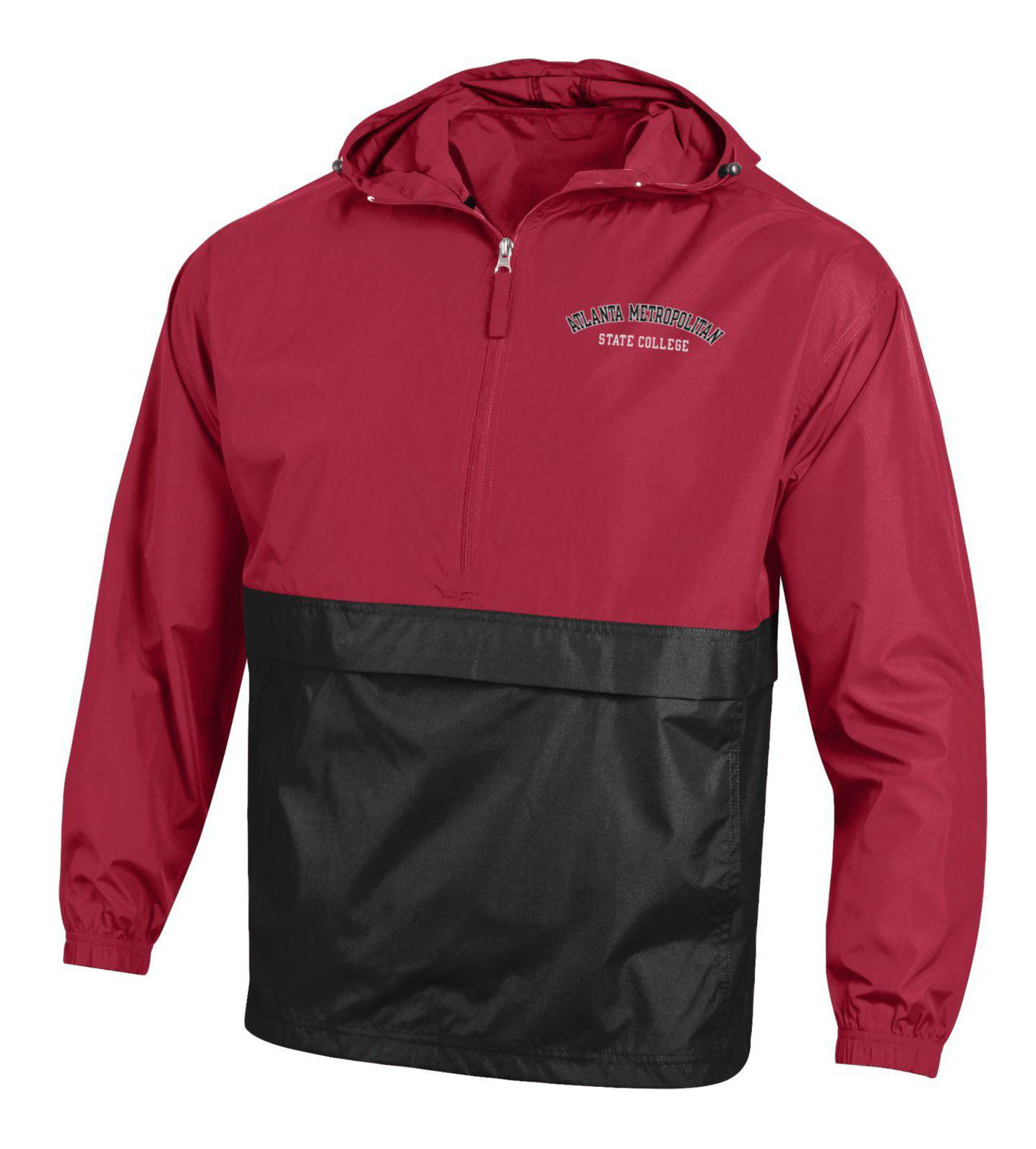 Atlanta Metropolitan State College Color Block Pack-N-Go Jacket