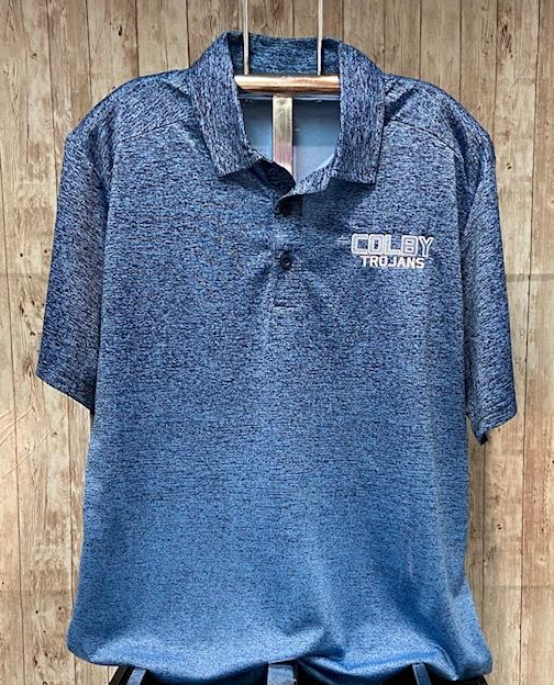 Ombre Blue Polo
