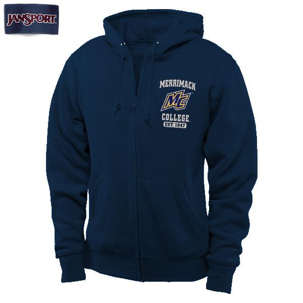 Navy Full Zip Hoodie