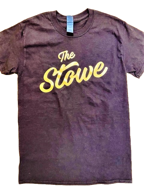 The Stowe T-shirt Gold Glitter Edition