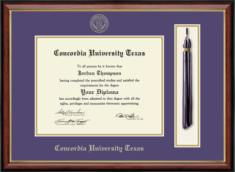 SOUTHPORT Tassel Diploma Frame