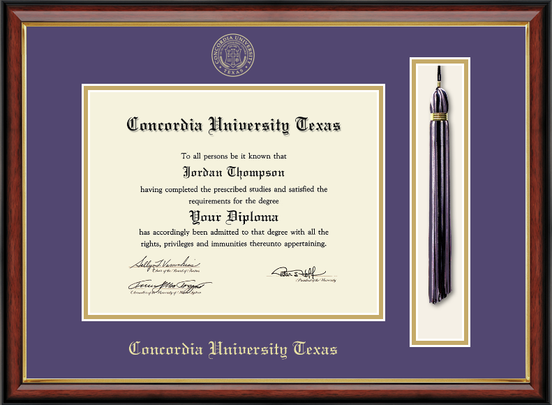 8.5x11 Tassel Diploma Frame
