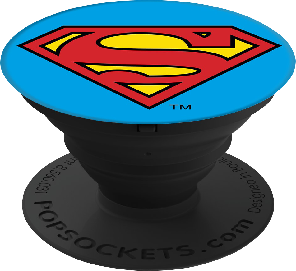 PopSockets Pop Culture PopGrip - Pattern BP Superman Icon