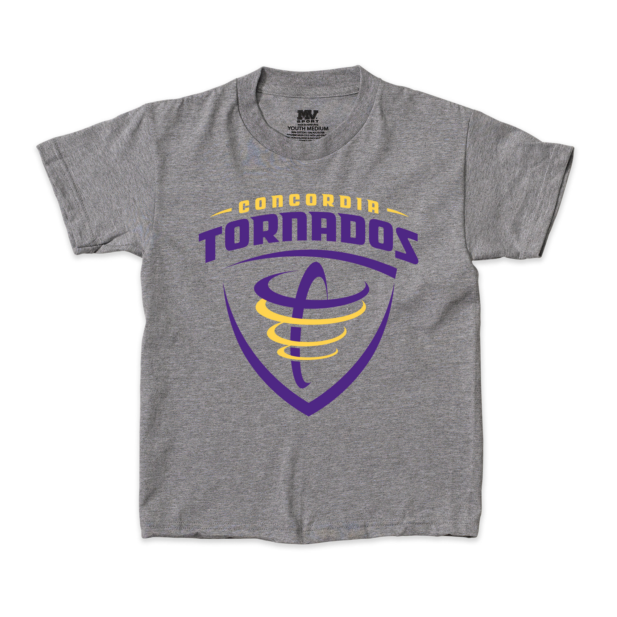 Youth Tornados Tee - Graphite
