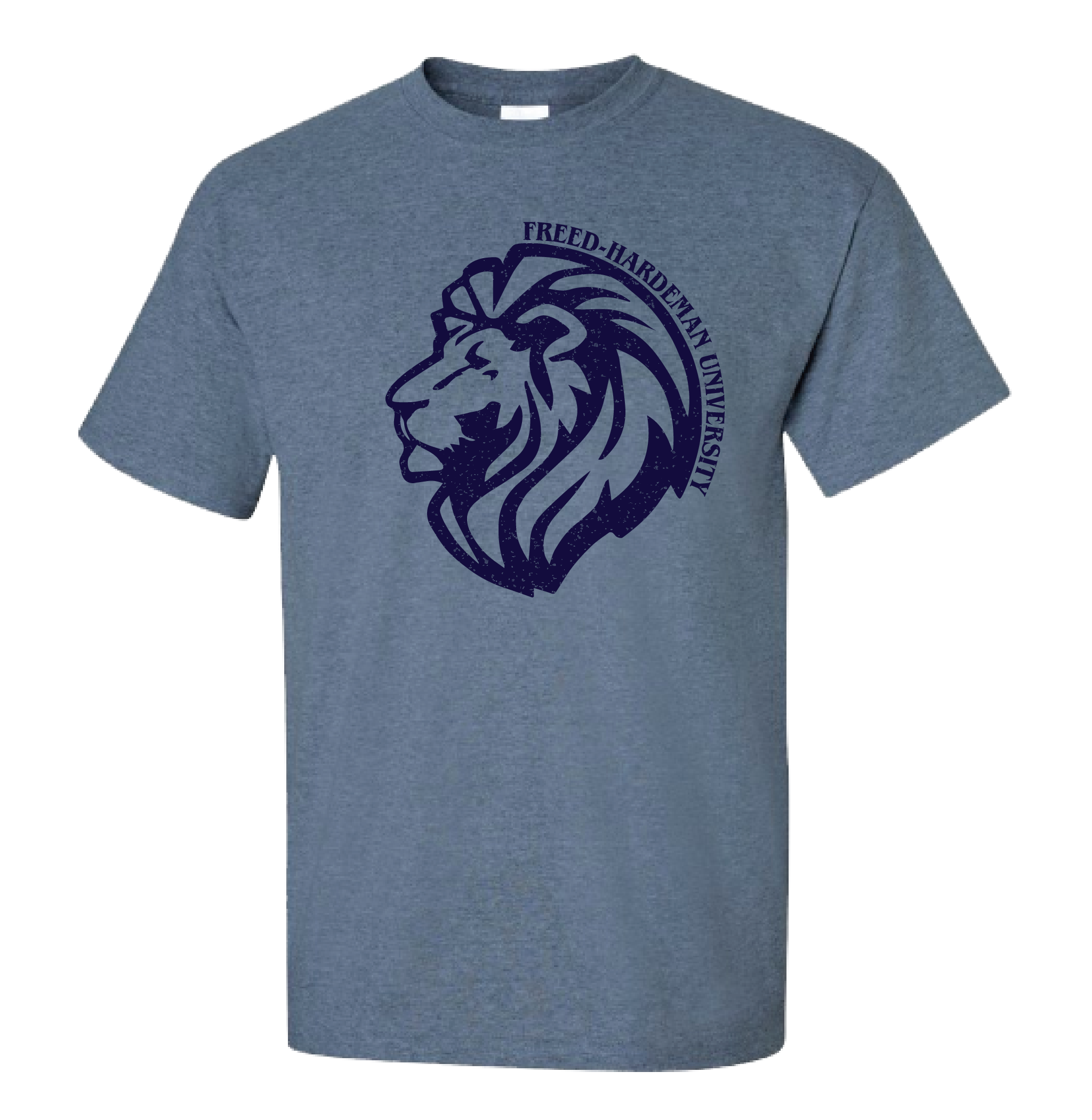 Distressed Lion Tee