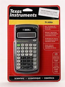 TI-30Xa Scientific Calculator