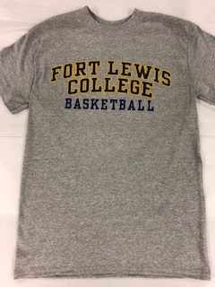 Fort Lewis College Basketball S/S Tee