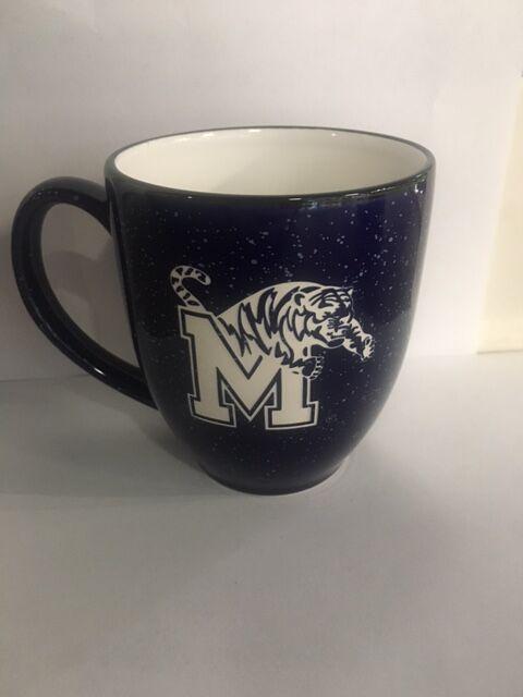 Cobalt Etched Mug