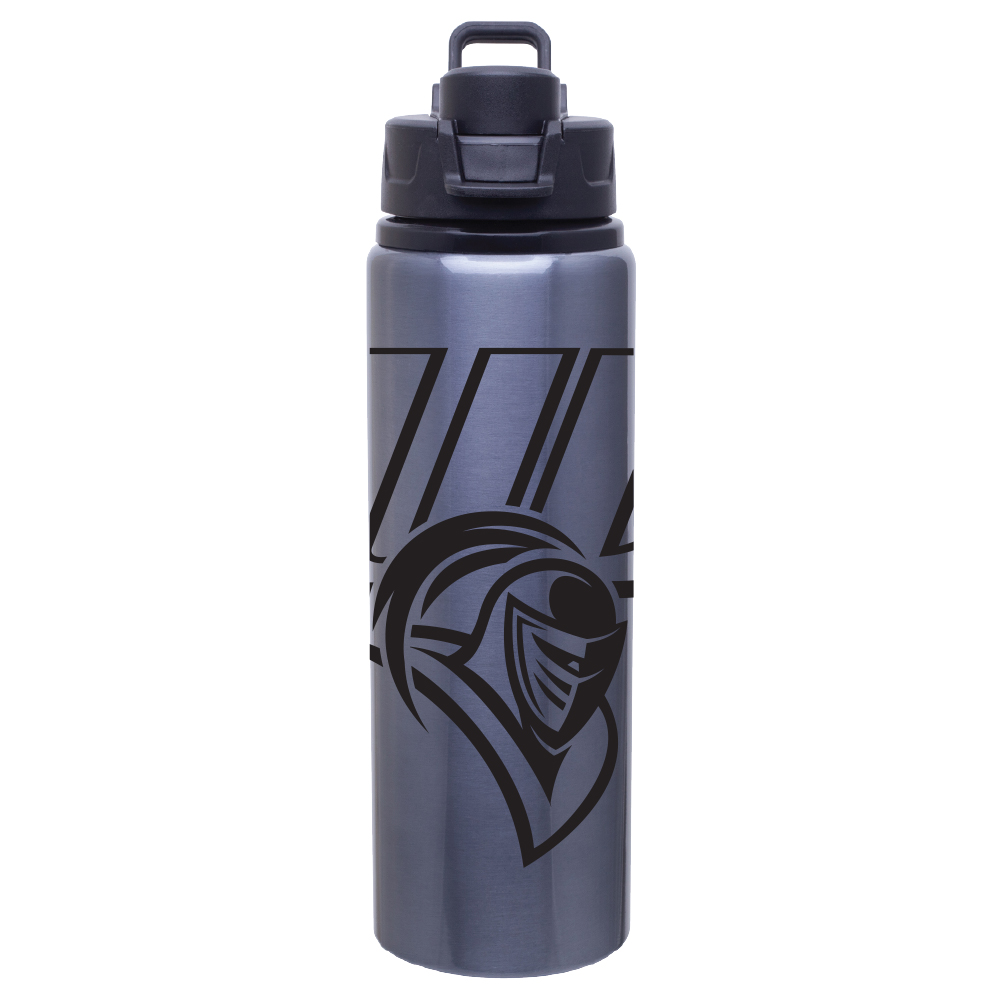 Metal Water Bottle - Silver