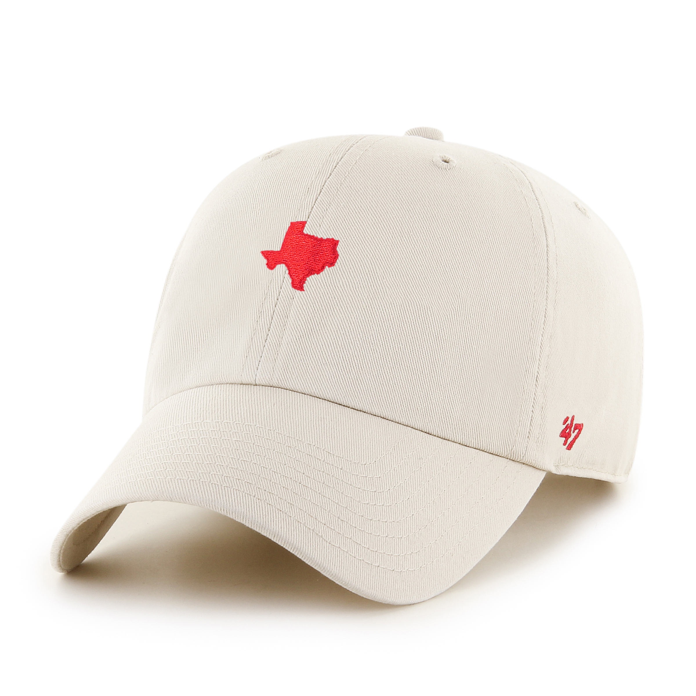 '47 Brand Texas Clean Up Hat Natural