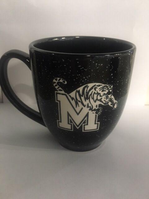 Black Etched Mug