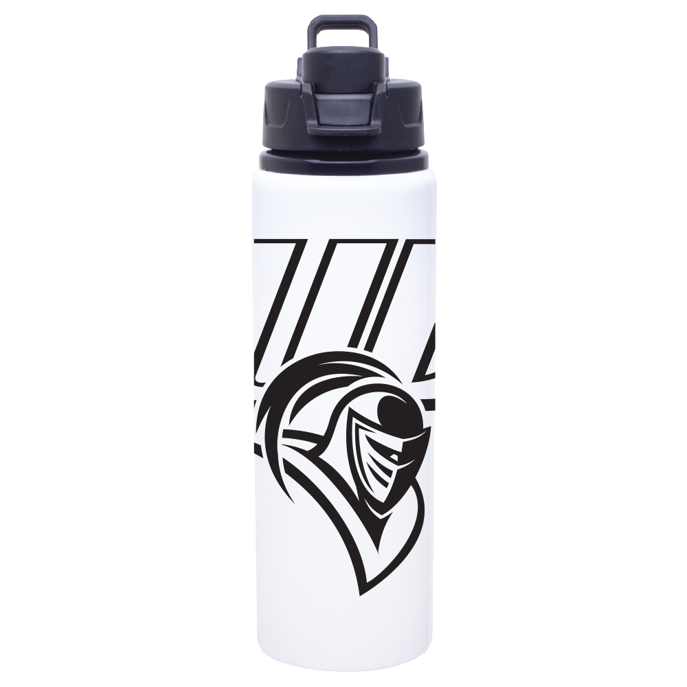 Metal Water Bottle - White