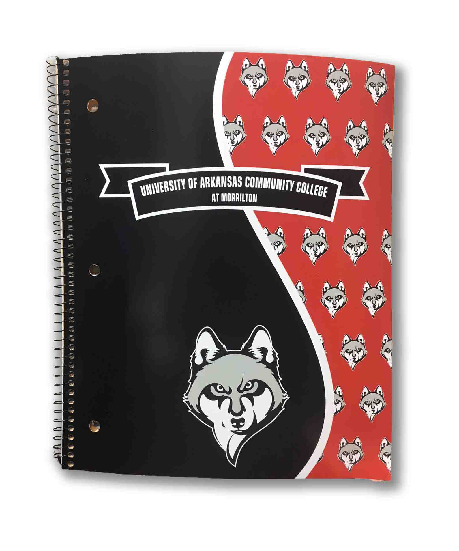 UACCM  1 Subject Notebook