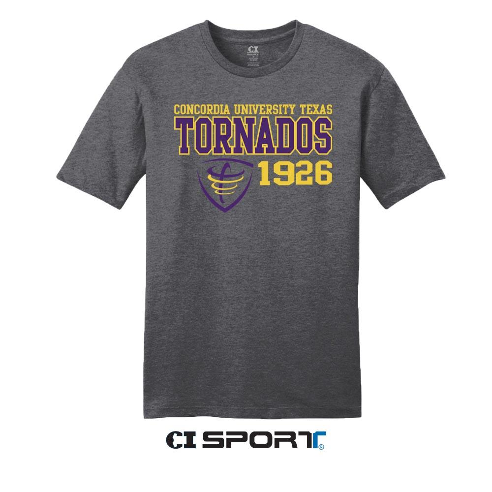Tornados 1926 Tee - Charcoal Heather