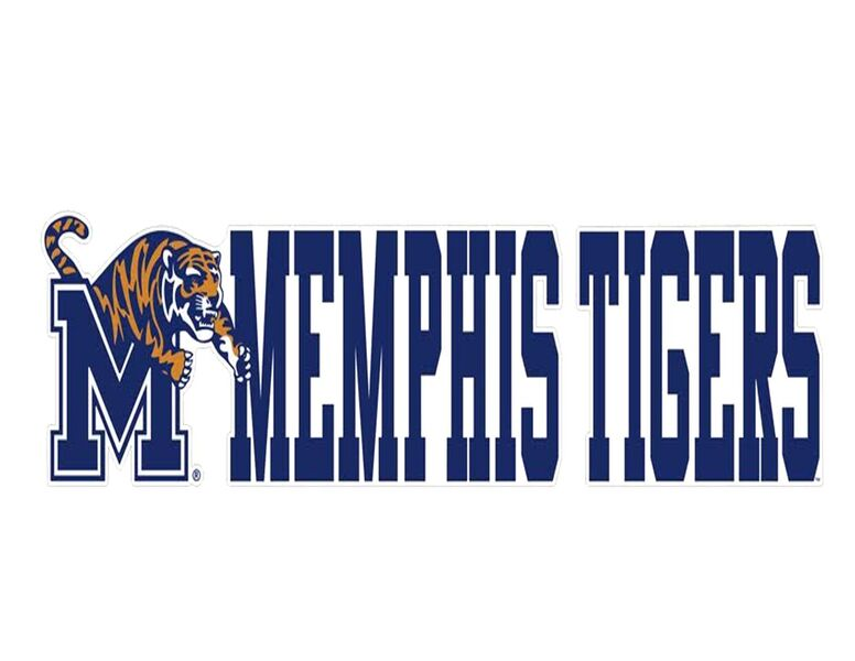 Royal Memphis Tigers Decal