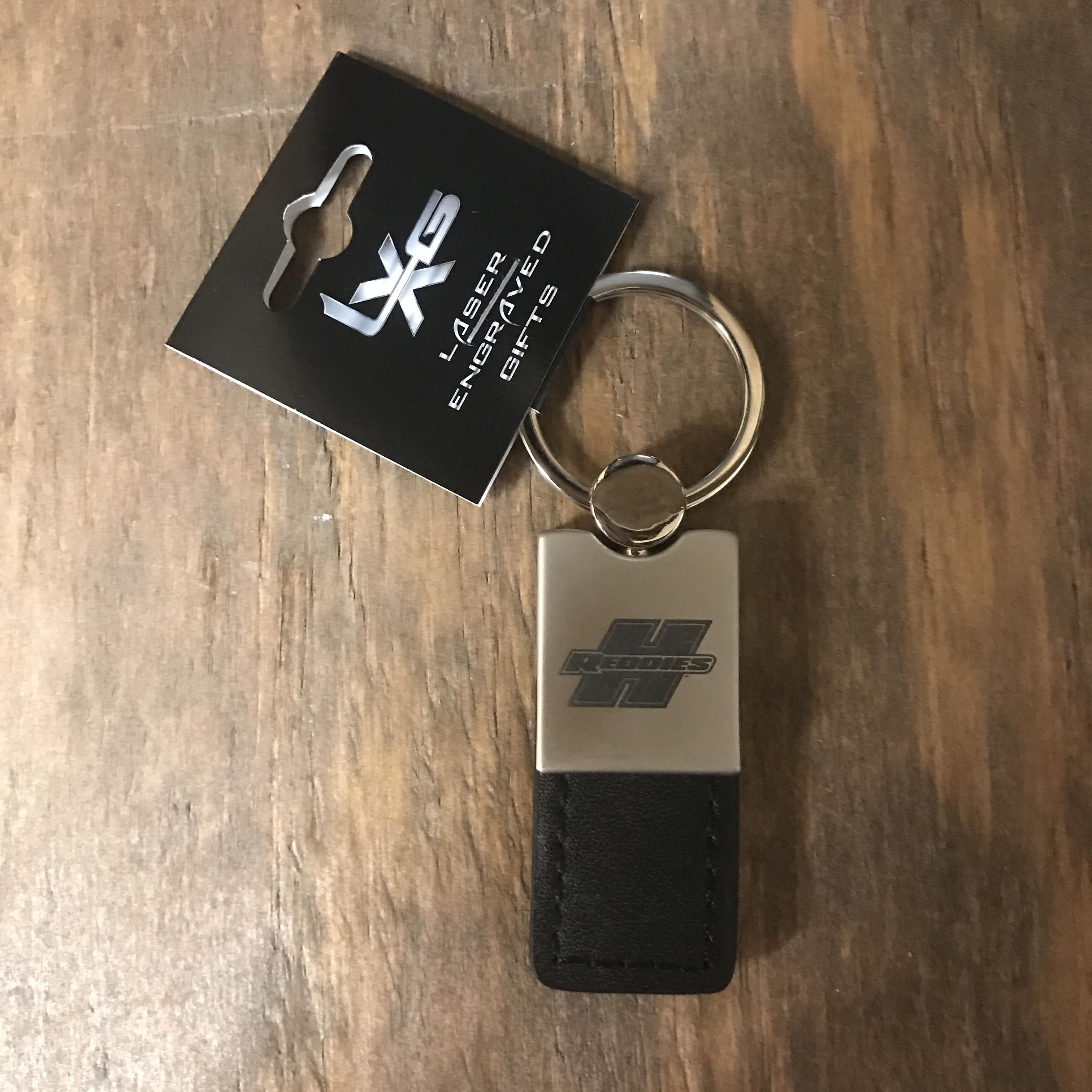 Leather/Metal Key Ring