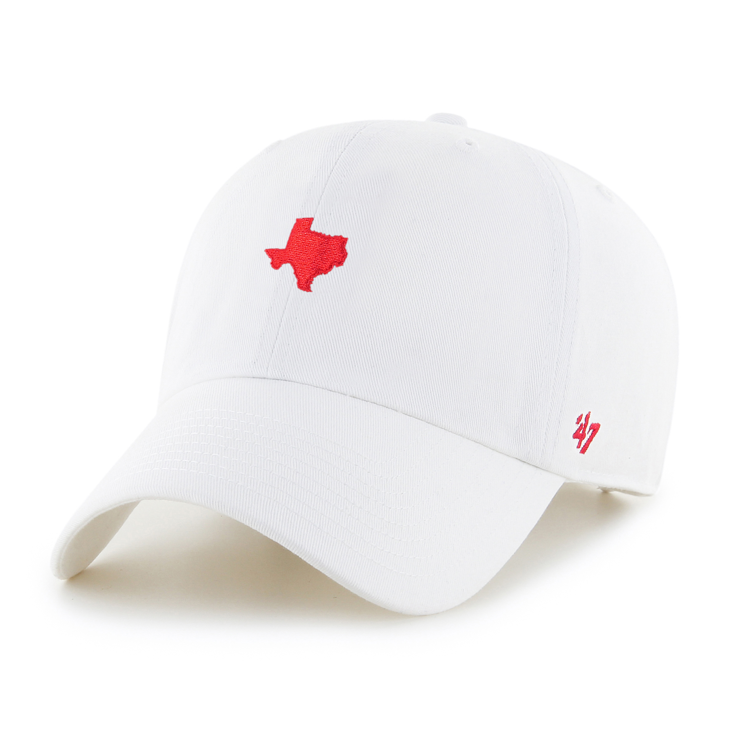 '47 Brand Texas Clean Up Hat White